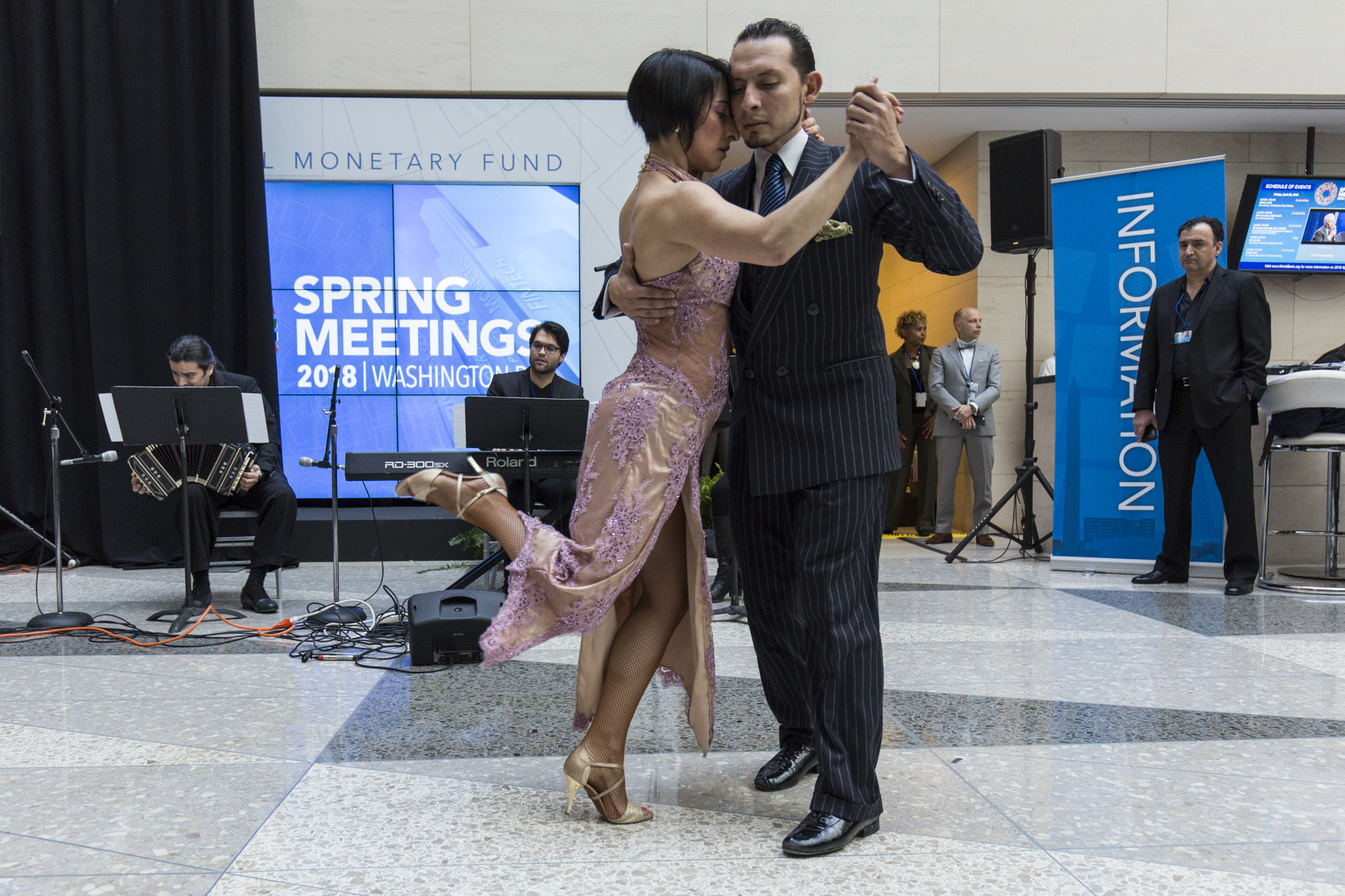 Cultural Event Argentine Tango Dance Step Diagram Multiple Dancers Argentinian This Which Is Sponsored By The G 20 Presidency Features A Captivating Pair Of Performing Traditional