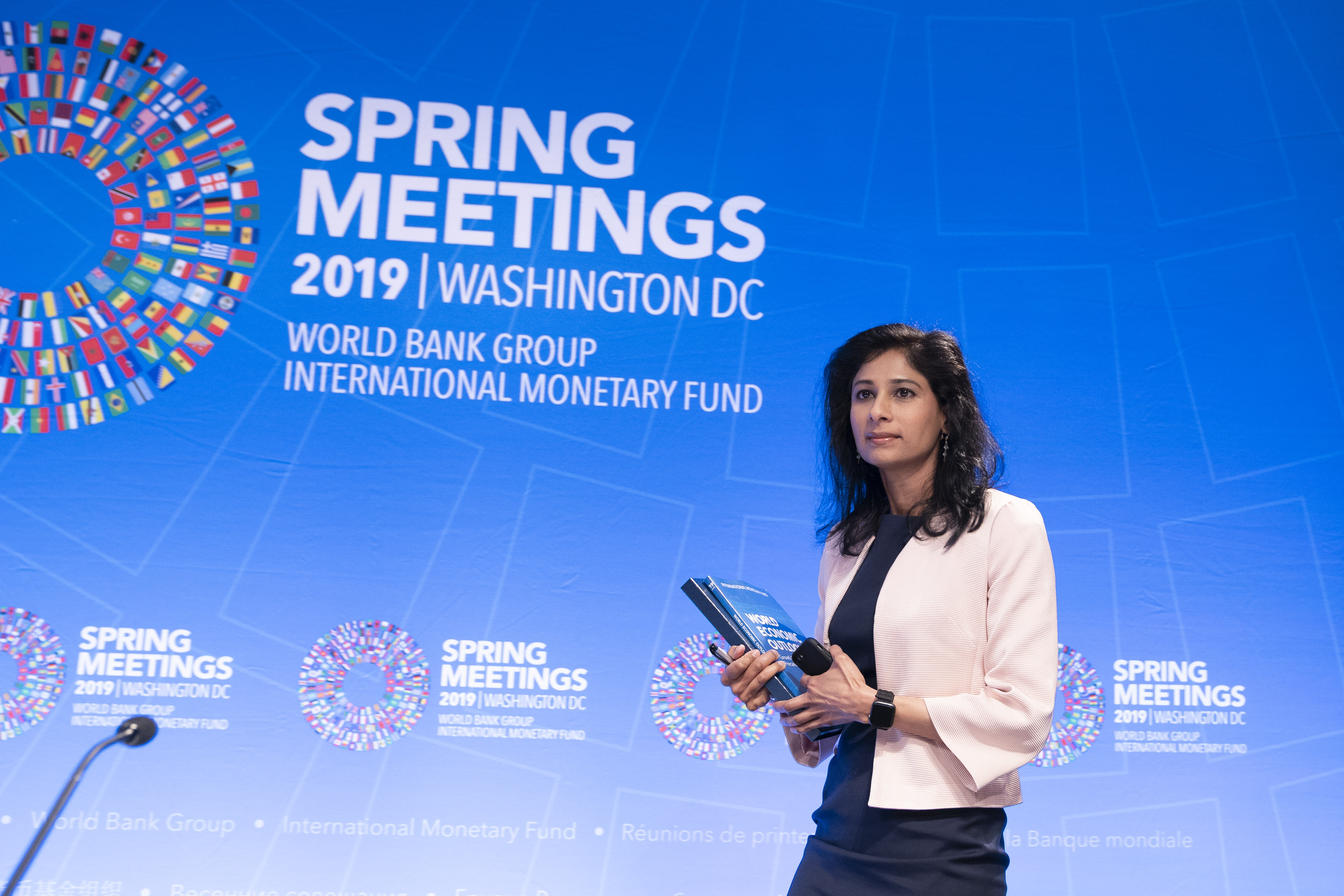 Press Briefing: World Economic Outlook | Tuesday, April 9